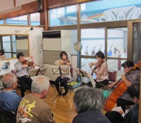 葛飾フィルハーモニー管弦楽団のメンバーによる弦楽四重奏